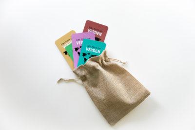 Designed Learning -Det komplette spil i lækker hørpose der føger med