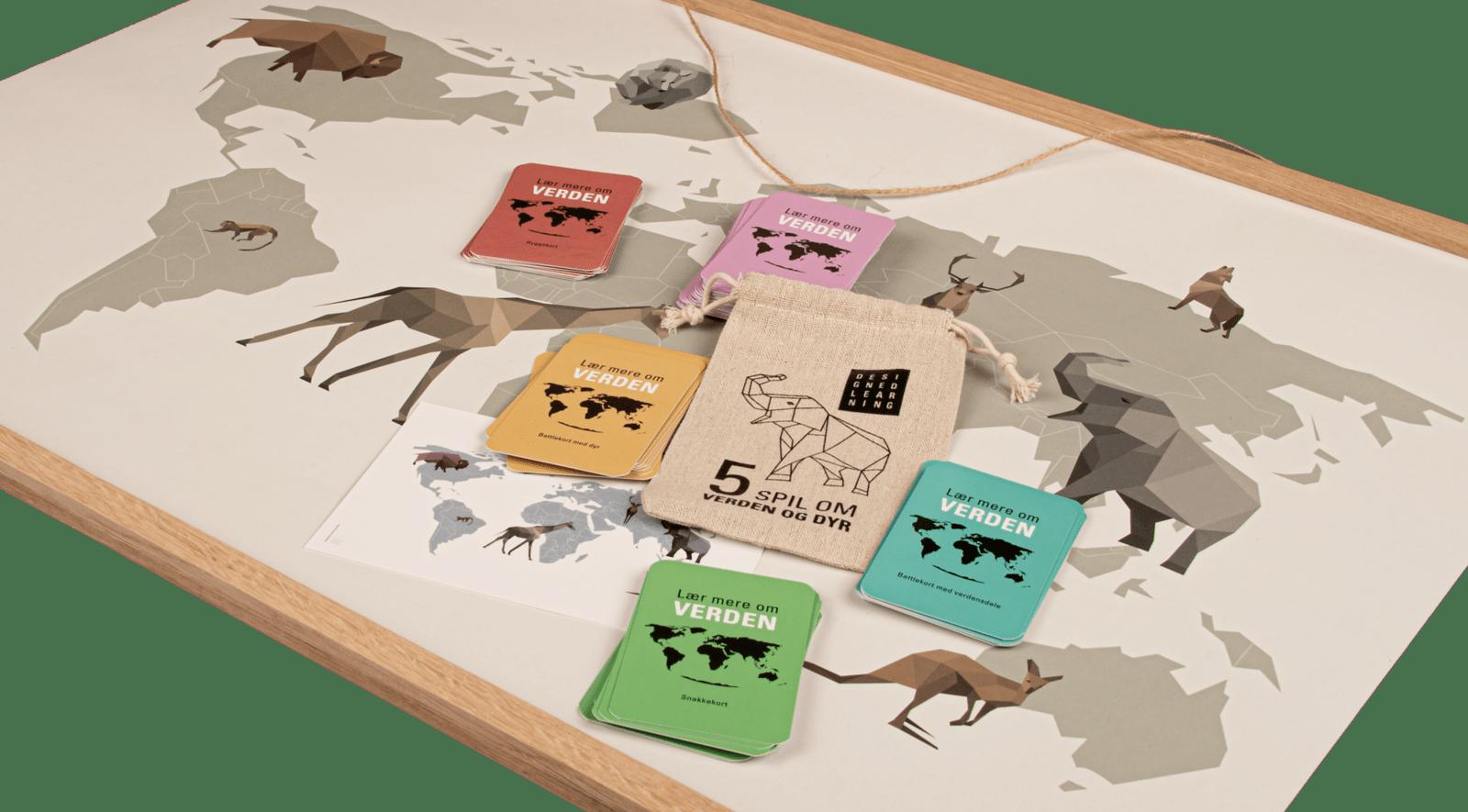 verdenspakken med dyr, verdensplakat