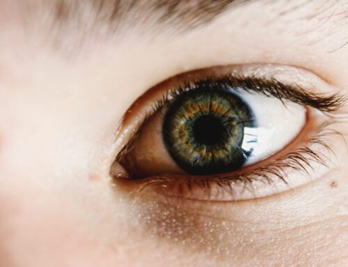 Kig hinanden i øjnene -uden at grine
