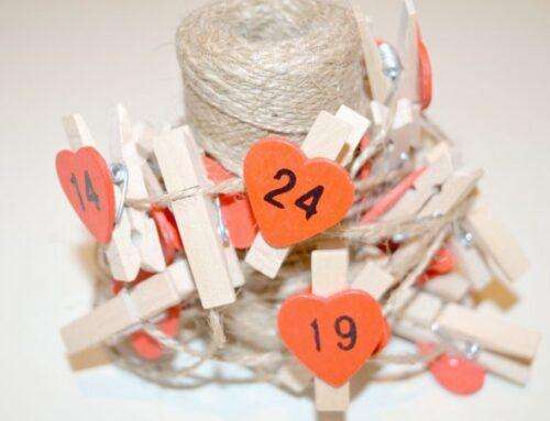 24 nissebreve og 24 nissedrillerier – en billig og sød julekalender