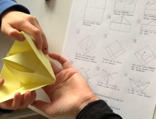 Foldetid – 3 børnevenlige origami guides